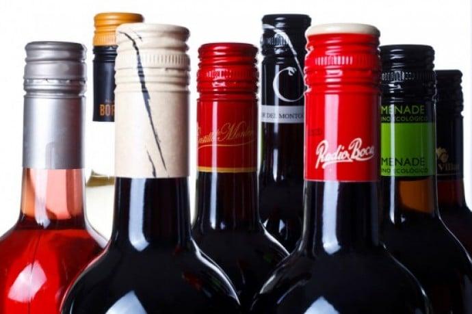 tapón de rosca para el vino