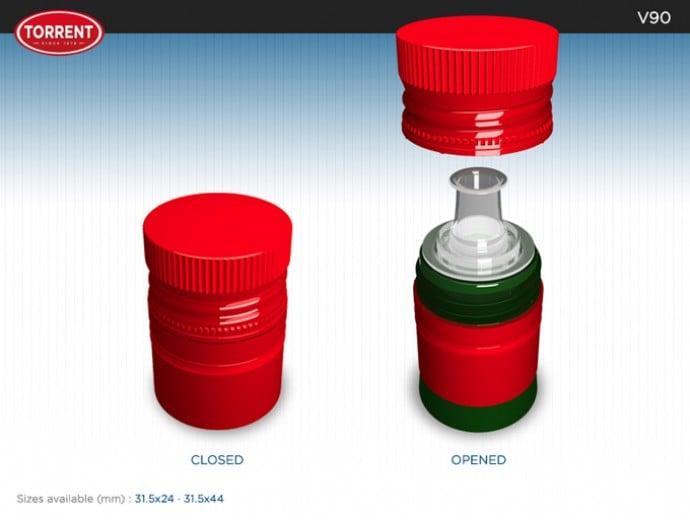 El aceite premium demandaba un tapón novedoso como el V90 | Torrent Closures