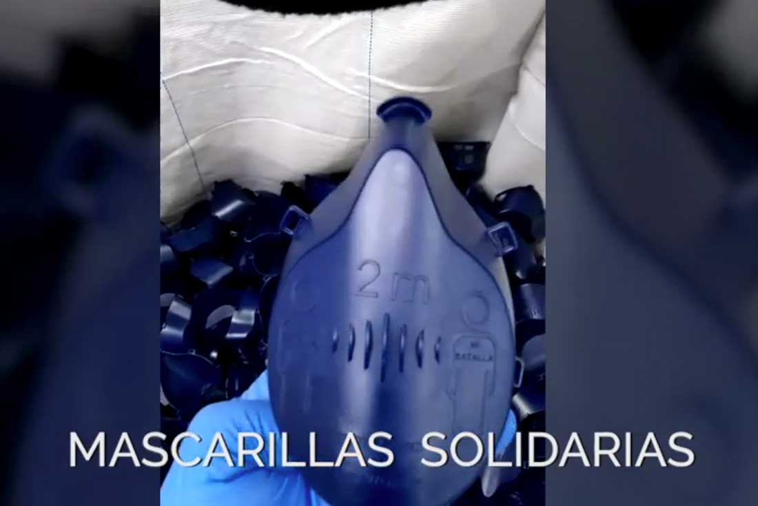 Mascarillas solidarias es una realidad | grupo Torrent