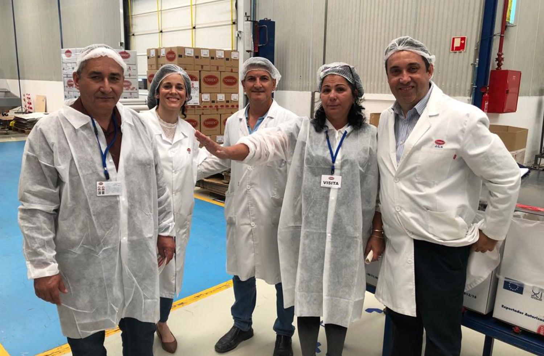 visita de Azuimport a nuestra planta | Grupo Torrent