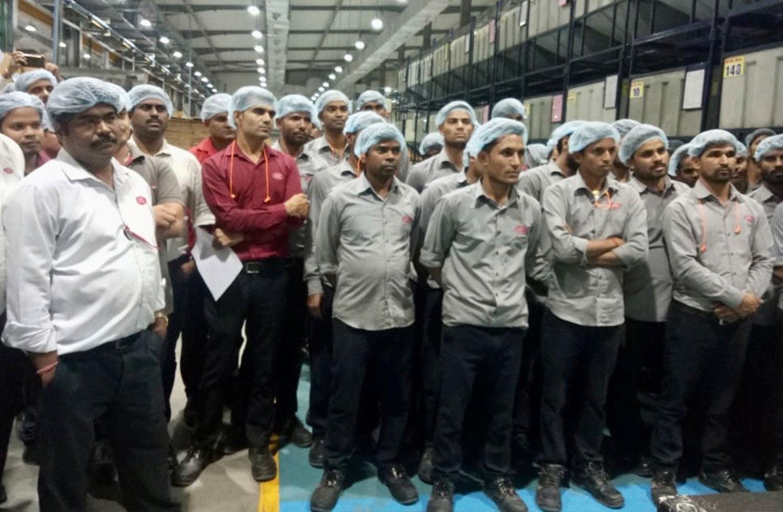Batiendo record de producción en nuestra planta de India | Grupo Torrent
