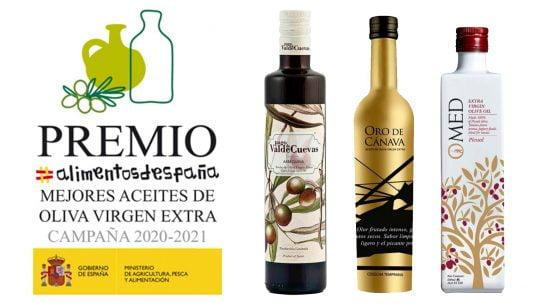 Los tres mejores aceites de Oliva Virgen Extra de España | Torrent Closures