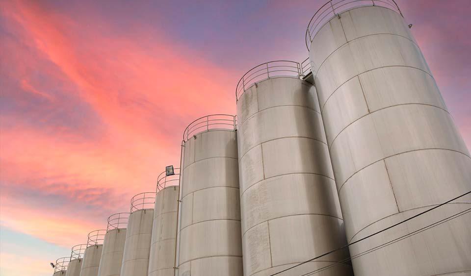 Silos dentro de nuestra producción sostenible. Torrent opte pour une production durable | Torrent Closures